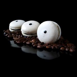 Macarons Kaffee