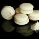 Macarons mit Kokosnuss