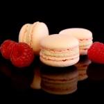 Macarons mit Himbeerjoghurt
