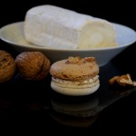 Fernand, Macarons Ziegenkäse-Walnuss