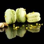 Macarons mit Pistazien