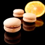 Macarons mit Blutorange