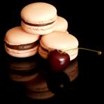 Chloé, Macarons Cranberrie-Kirsch