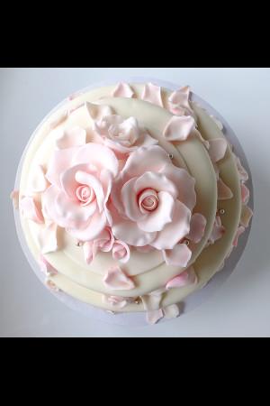 Rosenblätter Torte